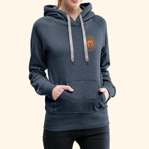 Otto-Mortzfeld-Schule Logo orange - Frauen Premium Hoodie