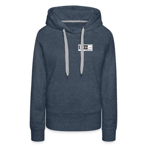 logo AV - Sweat-shirt à capuche Premium pour femmes