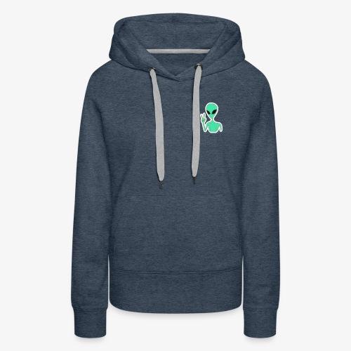 The Alien - Vrouwen Premium hoodie