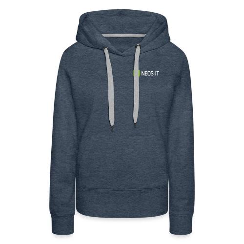 NeosIT Logo 2017 (2c) - Frauen Premium Hoodie