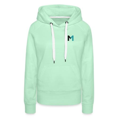 Logo M - Frauen Premium Hoodie