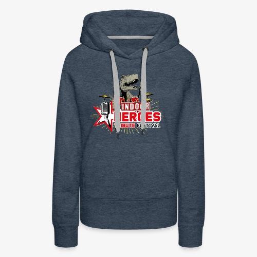 Heroes Tribute INDOOR - REX - Sweat-shirt à capuche Premium pour femmes