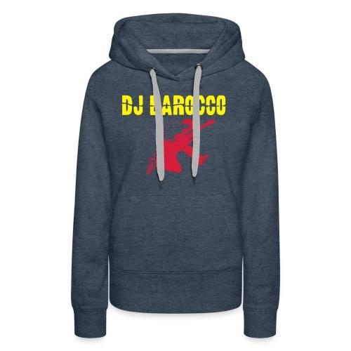 DJ Barocco - Felpa con cappuccio premium da donna