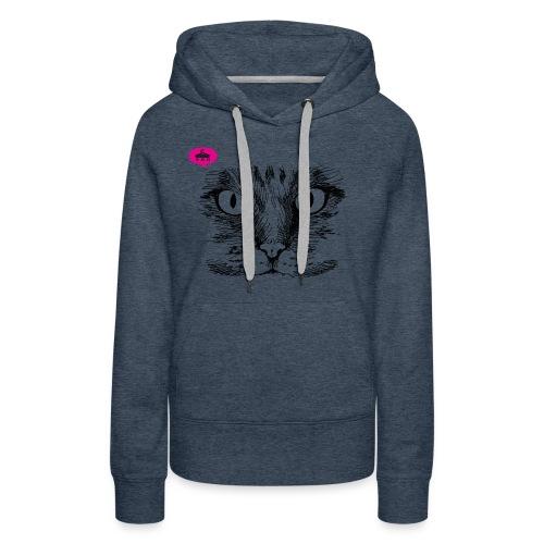 kattegezicht vdh - Vrouwen Premium hoodie