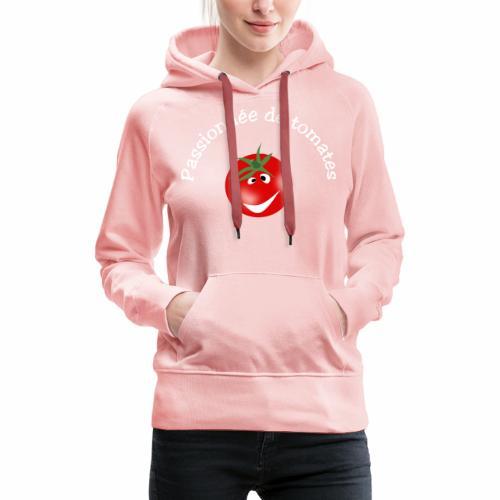 Passionnée de tomates - Women's Premium Hoodie