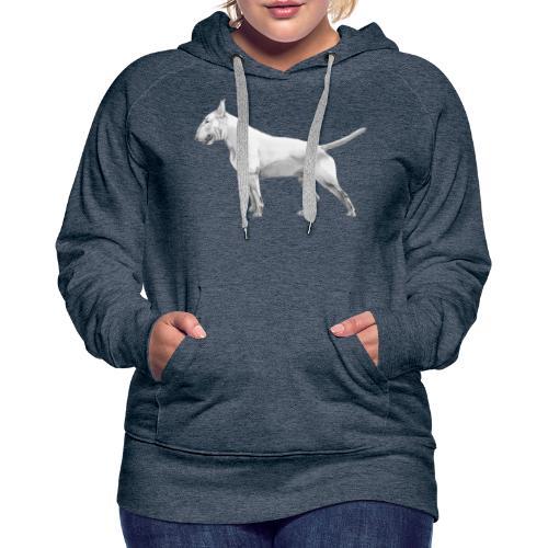Bullterrier - Dame Premium hættetrøje