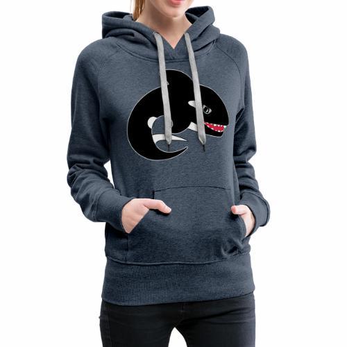 Orca - Sweat-shirt à capuche Premium pour femmes
