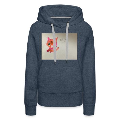 Little pet shop fox cat - Women's Premium Hoodie