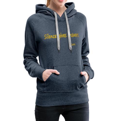 Silence - Women's Premium Hoodie