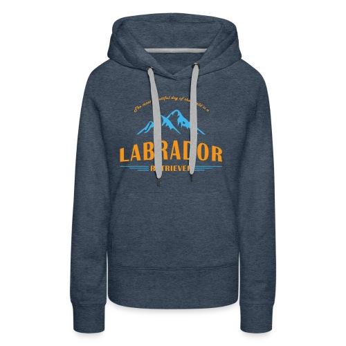 Labrador Mountain - Frauen Premium Hoodie