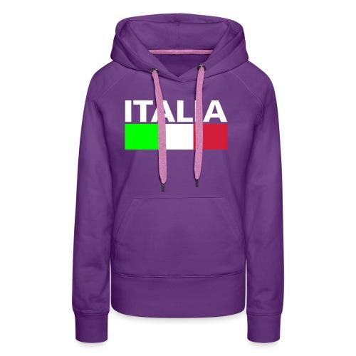 Italia Italy flag - Women's Premium Hoodie