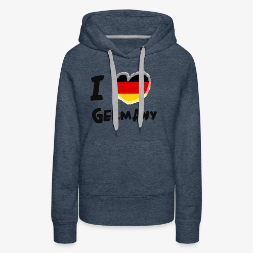 I Love Germany!!! - Frauen Premium Hoodie