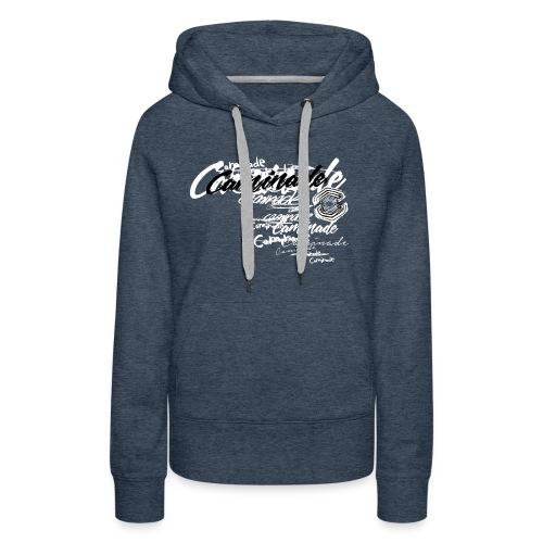 motif_caminade_trash4.png - Sweat-shirt à capuche Premium pour femmes