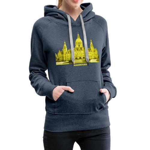 Hannover Rathaus Niedersachsen - Frauen Premium Hoodie
