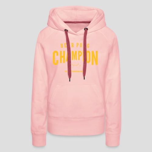 Beerpong Champion T-Shirt - Frauen Premium Hoodie