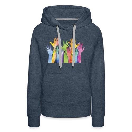 Alll hands - Vrouwen Premium hoodie