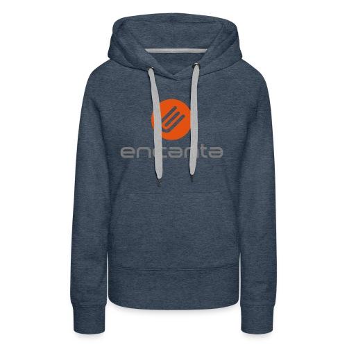 Encanta_Logo_Vector - Sudadera con capucha premium para mujer