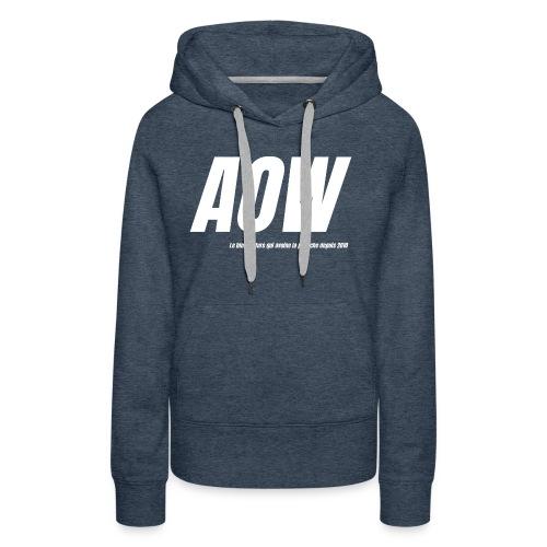AOW 2021 #2 - Sweat-shirt à capuche Premium pour femmes