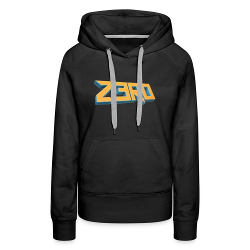 The Z3R0 Shirt - Women's Premium Hoodie