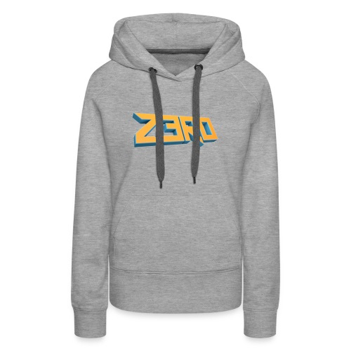 The Z3R0 Shirt - Women's Premium Hoodie