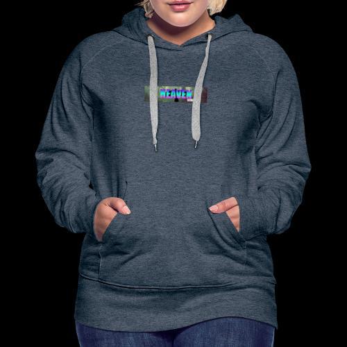 HEAVEN series 1 - Sweat-shirt à capuche Premium pour femmes