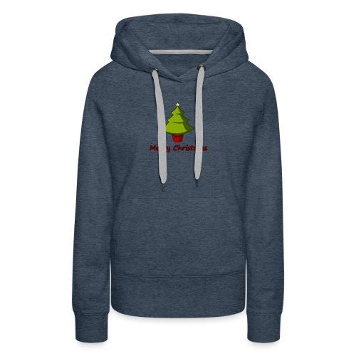 Merry Christmas Design von HoHoHo Merch - Frauen Premium Hoodie
