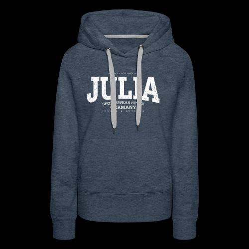 Julia (white oldstyle) - Frauen Premium Hoodie