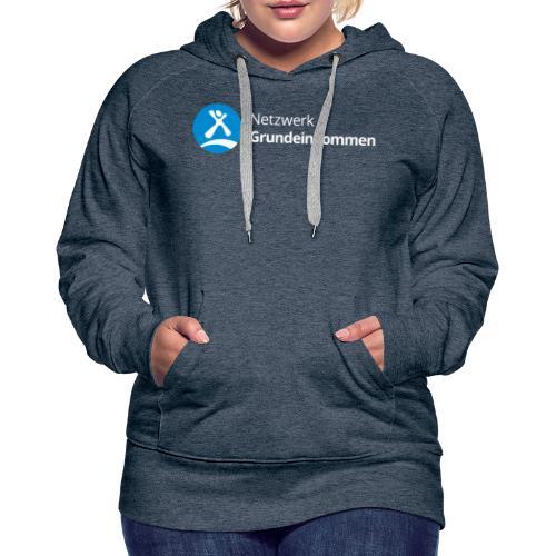 Netzwerk Grundeinkommen - Frauen Premium Hoodie