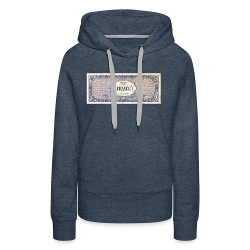 100F - Sweat-shirt à capuche Premium pour femmes