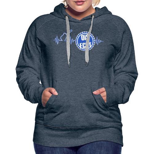 Ois Echt Puls - Frauen Premium Hoodie