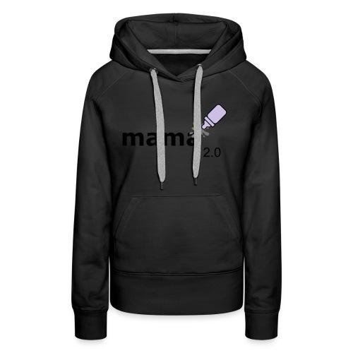 Mama_2-0 - Frauen Premium Hoodie