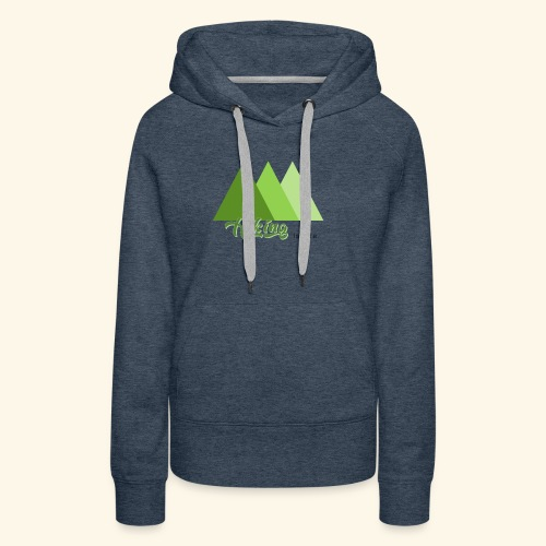 hiking - Sweat-shirt à capuche Premium pour femmes