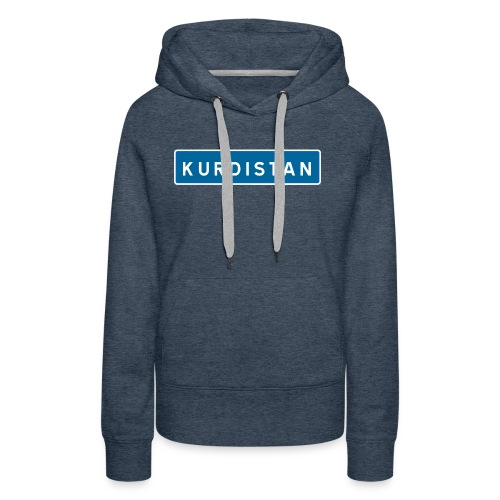 Kurdistanskylt - Premiumluvtröja dam