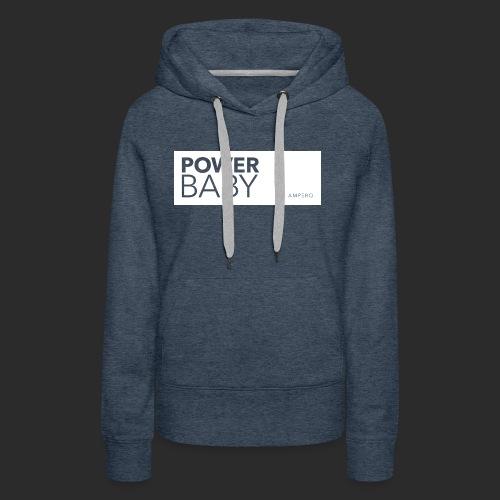 AMPERO Power Baby - Frauen Premium Hoodie