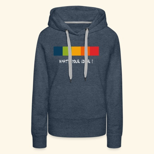 ps color spectrum w - Frauen Premium Hoodie