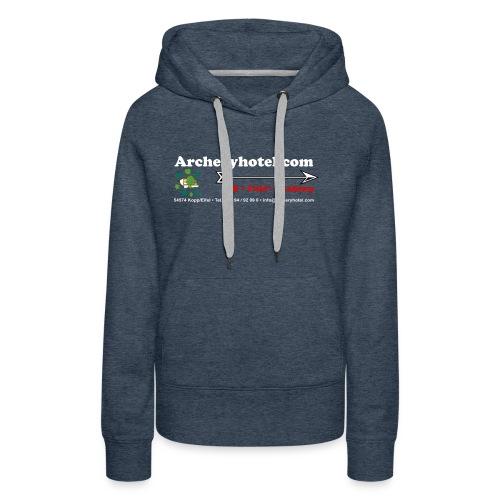shirt_ruecken - Frauen Premium Hoodie