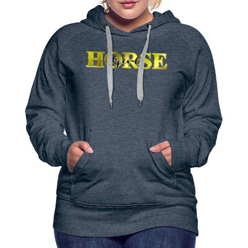 Horsegirl Reiten Pferde Geschenk - Frauen Premium Hoodie