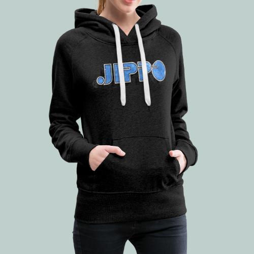JIPPO LOGO (blue) - Naisten premium-huppari