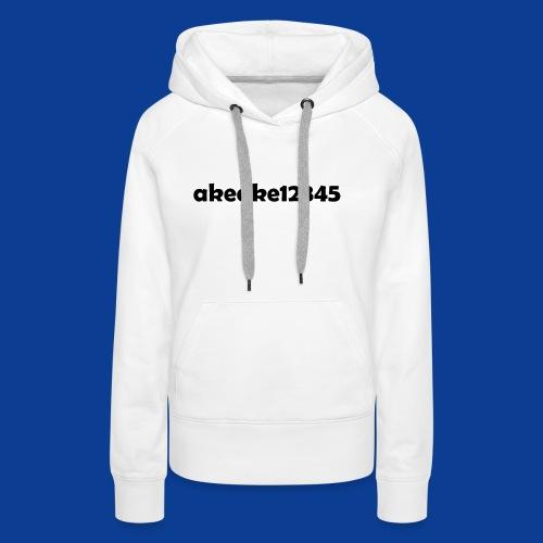 Shirts and stuff - Women's Premium Hoodie
