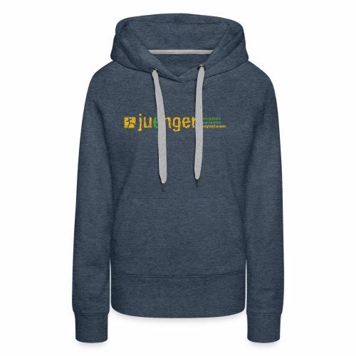 logo ev jugendarbeit borg - Frauen Premium Hoodie
