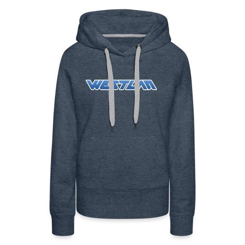 WestLAN Logo - Women's Premium Hoodie