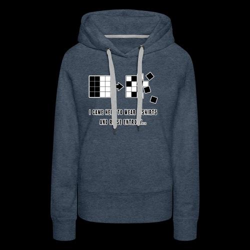 Entropy Shirt - Women's Premium Hoodie