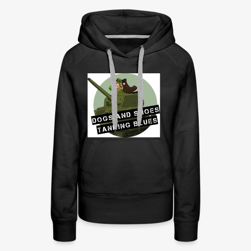 logo dogs nieuw - Vrouwen Premium hoodie