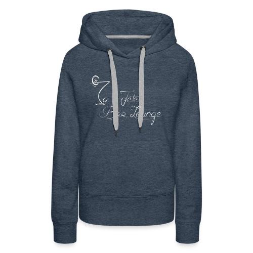 La Jetée Bar lounge - Sweat-shirt à capuche Premium pour femmes