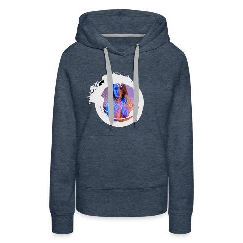 Le cercle - Sweat-shirt à capuche Premium pour femmes