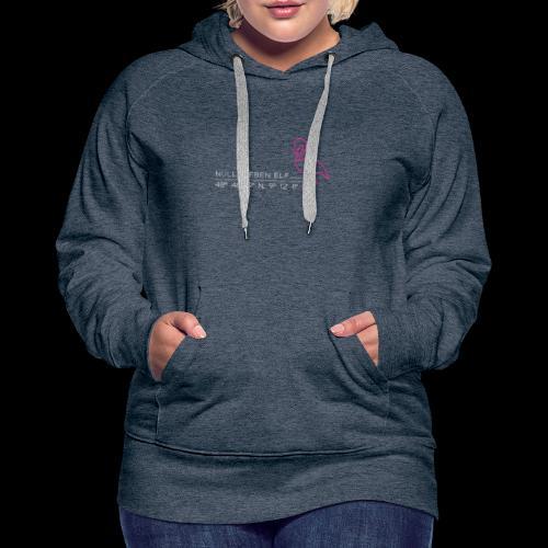 Wilhelma Flamingo - Frauen Premium Hoodie