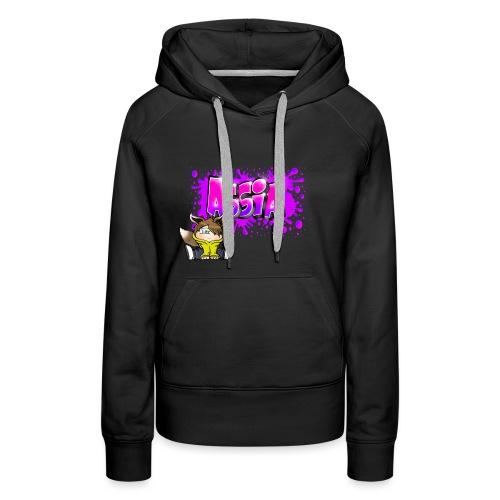 Graffiti ASSIA - Sweat-shirt à capuche Premium pour femmes