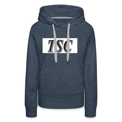 TSC Black Text - Women's Premium Hoodie