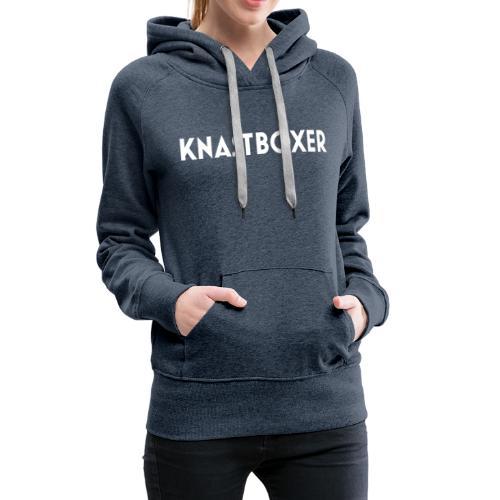 Knastboxer Schriftzug - Frauen Premium Hoodie