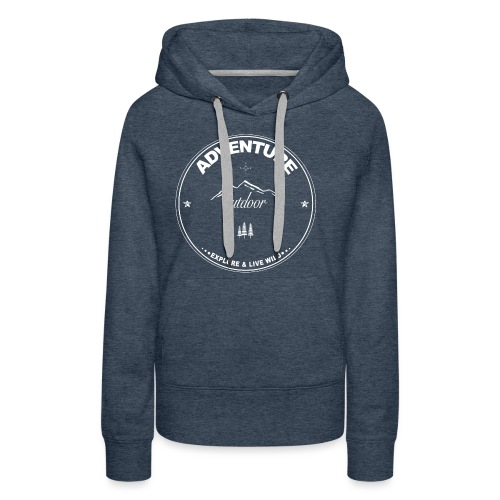 Adventure - Outdoor - Frauen Premium Hoodie